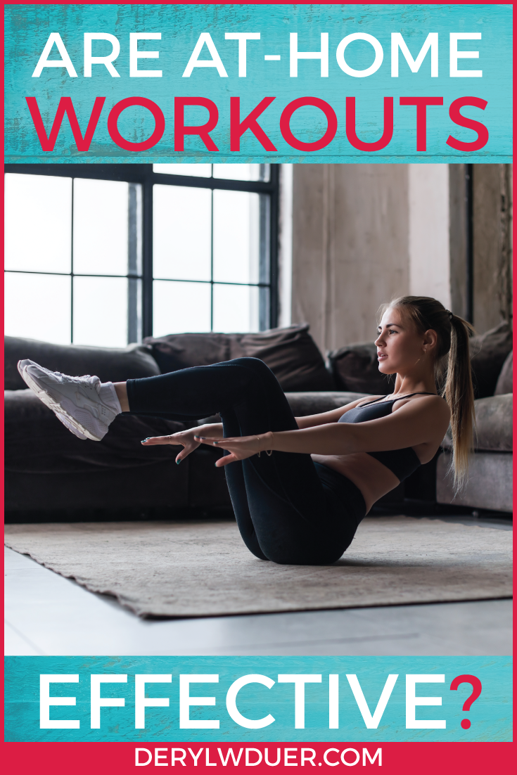 Are at-home workouts effective pinterest